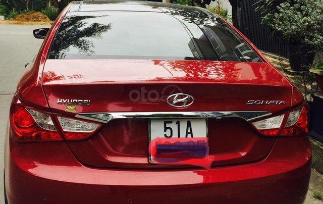 Cần bán gấp trước tết xe Sonata đời 2012, màu đỏ, nhập khẩu2