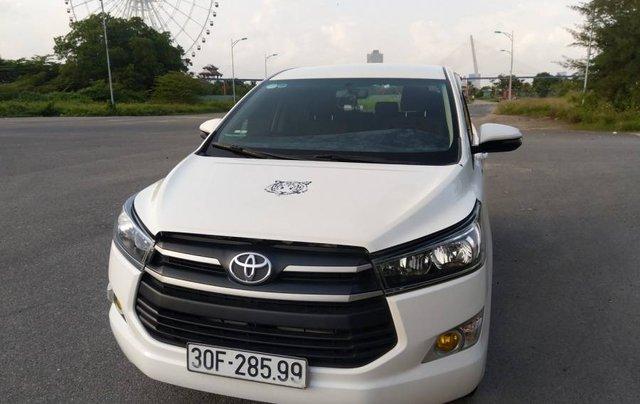 Bán Toyota Innova sản xuất 2018, màu trắng giá cạnh tranh xe còn mới nguyên0