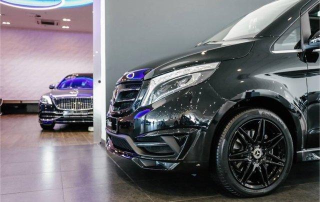 Bán xe Mercedes V250 Luxury đời 2019, màu đen, nhập khẩu nguyên chiếc8