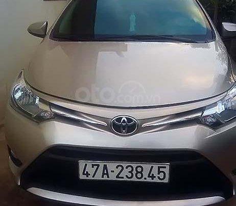 Bán Toyota Vios 1.5E năm sản xuất 20160
