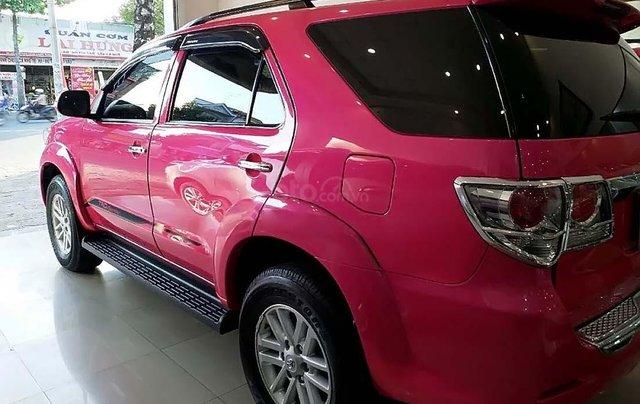 Bán xe Toyota Fortuner 2.7V 4x2 AT năm sản xuất 2013, màu hồng số tự động, giá tốt1