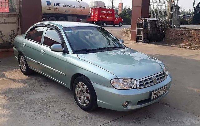 Cần bán Kia Spectra năm 2003, màu xanh lam, xe nhập, 115 triệu0