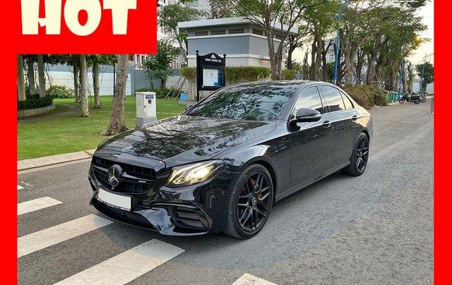 MBA Auto - Bán xe Mercedes E300 AMG nhập khẩu màu đen nhập khẩu model 2018 - Trả trước 800 triệu nhận xe ngay0