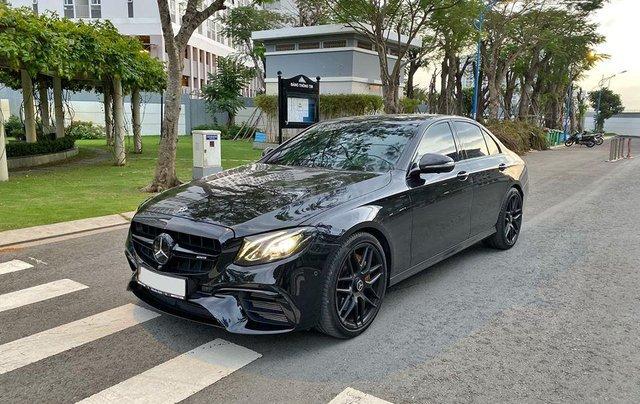 MBA Auto - Bán xe Mercedes E300 AMG nhập khẩu màu đen nhập khẩu model 2018 - Trả trước 800 triệu nhận xe ngay1