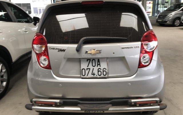 Bán Chevrolet Spark LTZ 1.0AT màu bạc, số tự động sản xuất 2014/2015 1 chủ đi 36000km5