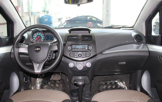 Bán Chevrolet Spark LTZ 1.0AT đời 2014, màu bạc8