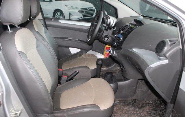 Bán Chevrolet Spark LTZ 1.0AT đời 2014, màu bạc6