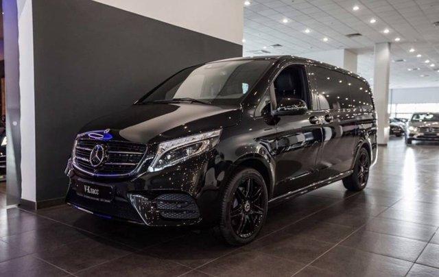 Bán xe Mercedes V250 Luxury đời 2019, màu đen, nhập khẩu nguyên chiếc0