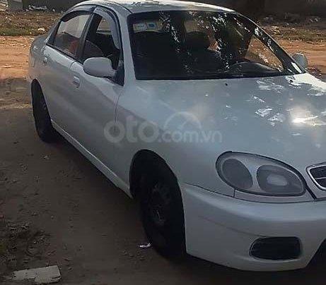 Bán ô tô Daewoo Lanos sản xuất 2001, màu trắng, nhập khẩu1