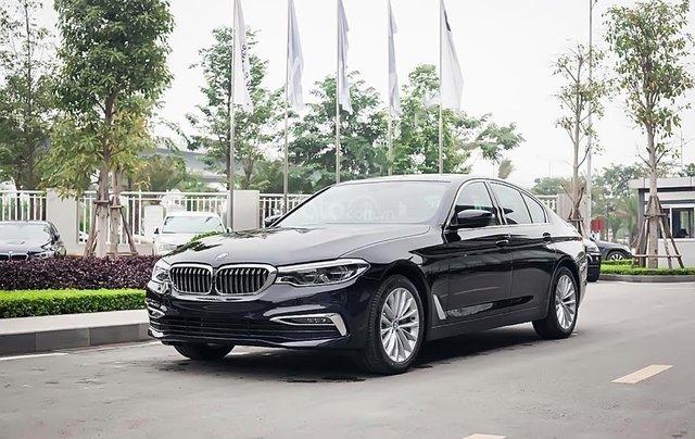 Bán ô tô hạng sang BMW 5 Series năm sản xuất 2019, màu đen, nhập khẩu