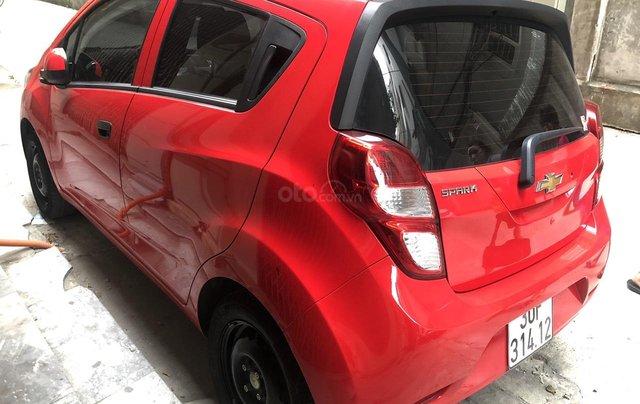 Bán Chevrolet Spark LS năm sản xuất 2018, màu đỏ10