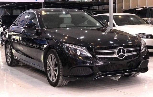 Bán ô tô Mercedes-Benz C class sản xuất 2016, màu đen xe nhập giá 1 tỷ 155 triệu đồng2