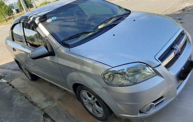 Cần bán lại xe Chevrolet Aveo đời 2013, màu bạc xe gia đình giá tốt 219 triệu đồng0