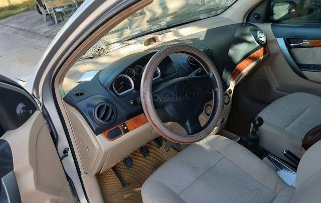 Cần bán lại xe Chevrolet Aveo đời 2013, màu bạc xe gia đình giá tốt 219 triệu đồng6