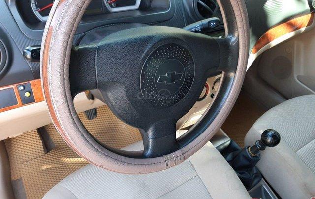 Cần bán lại xe Chevrolet Aveo đời 2013, màu bạc xe gia đình giá tốt 219 triệu đồng8