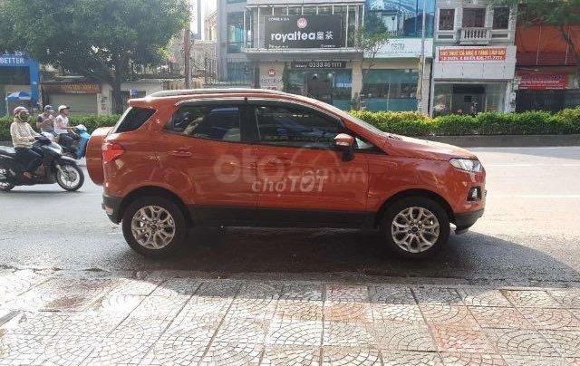 Cần bán lại xe Ford EcoSport đăng ký lần đầu 2016, màu cam chính chủ giá tốt 500tr đồng0