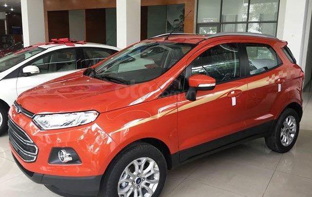 Cần bán lại xe Ford EcoSport đăng ký lần đầu 2016, màu cam chính chủ giá tốt 500tr đồng1