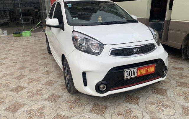 Cần bán Kia Morning Si sản xuất năm 2015, màu trắng1
