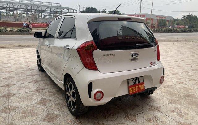 Cần bán Kia Morning Si sản xuất năm 2015, màu trắng5
