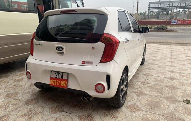 Cần bán Kia Morning Si sản xuất năm 2015, màu trắng7
