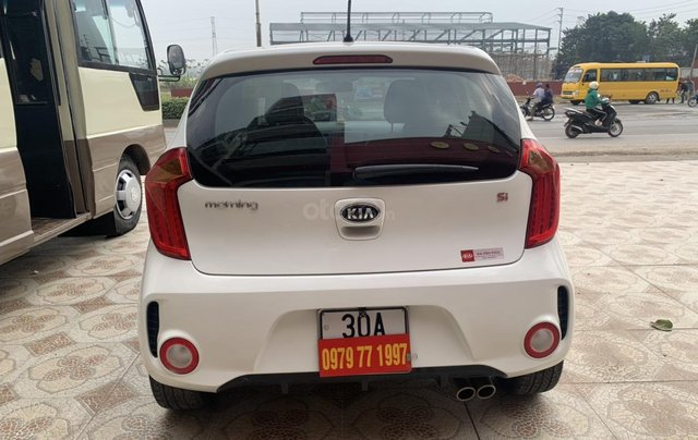 Cần bán Kia Morning Si sản xuất năm 2015, màu trắng4