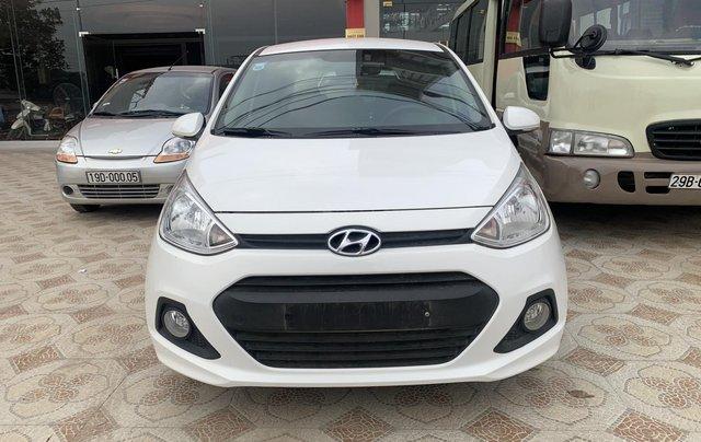 Cần bán Hyundai Grand i10 1.0 sản xuất năm 2016, màu trắng, xe nhập0