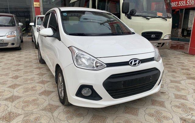 Cần bán Hyundai Grand i10 1.0 sản xuất năm 2016, màu trắng, xe nhập2