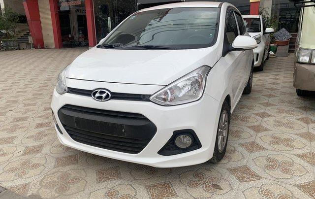 Cần bán Hyundai Grand i10 1.0 sản xuất năm 2016, màu trắng, xe nhập1