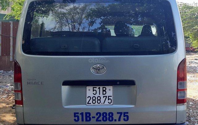 Bán Toyota Hiace tải Van máy dầu, đời 2008, vô được giờ cấm tải trong nội đô TP1