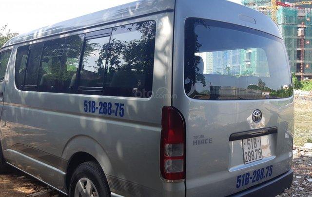 Bán Toyota Hiace tải Van máy dầu, đời 2008, vô được giờ cấm tải trong nội đô TP3