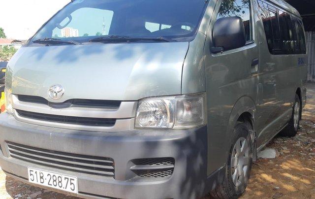 Bán Toyota Hiace tải Van máy dầu, đời 2008, vô được giờ cấm tải trong nội đô TP4