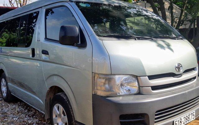 Bán Toyota Hiace tải Van máy dầu, đời 2008, vô được giờ cấm tải trong nội đô TP5