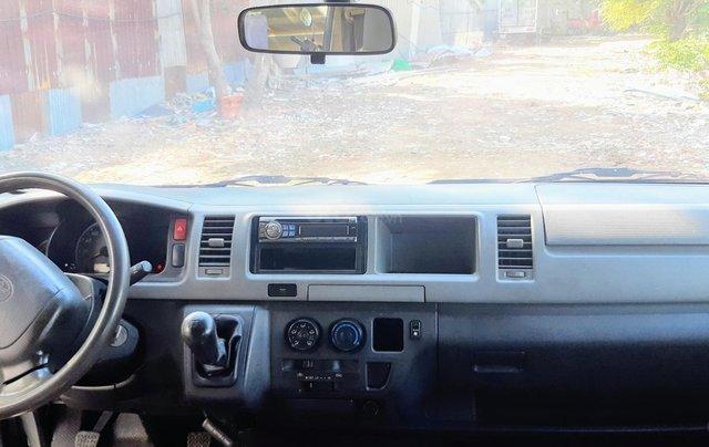 Bán Toyota Hiace tải Van máy dầu, đời 2008, vô được giờ cấm tải trong nội đô TP8