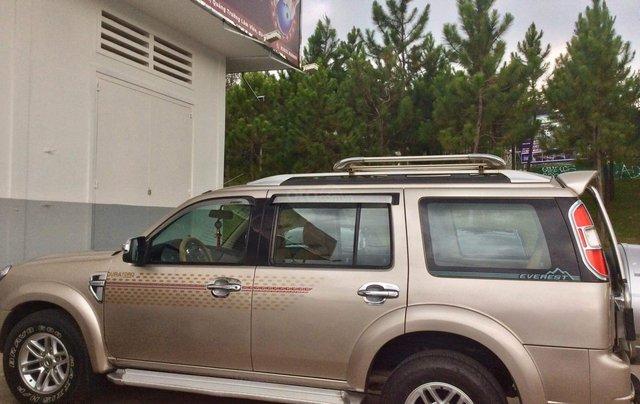 Cần bán xe Ford Everest sản xuất 2009, màu hồng phấn giá rẻ1