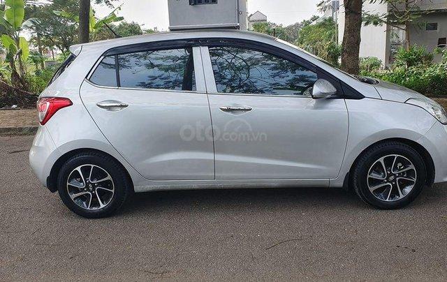Hyundai i10 2017 màu bạc số sàn, bản đủ, xe đẹp như mới7