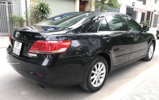 Cần bán xe Toyota Camry 2.4G sản xuất năm 2010, màu đen, 566 triệu2