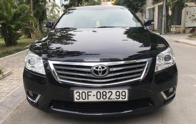 Cần bán xe Toyota Camry 2.4G sản xuất năm 2010, màu đen, 566 triệu1