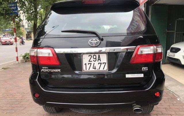 Bán xe Toyota Fortuner 2.5G sản xuất năm 2011, màu đen5