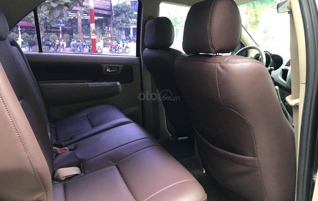 Bán xe Toyota Fortuner 2.5G sản xuất năm 2011, màu đen7