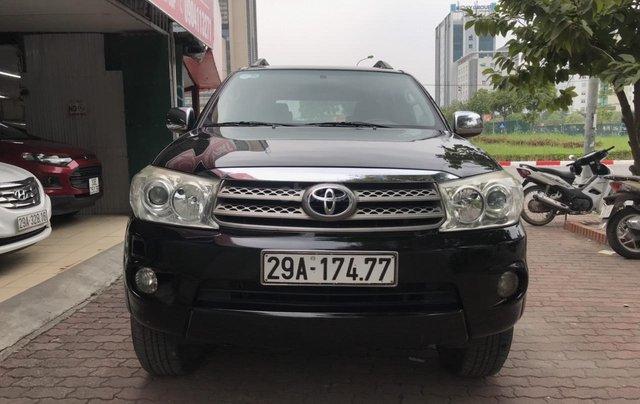 Bán xe Toyota Fortuner 2.5G sản xuất năm 2011, màu đen0