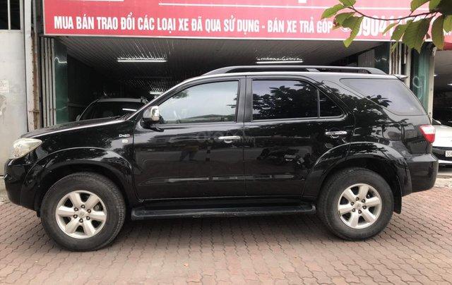 Bán xe Toyota Fortuner 2.5G sản xuất năm 2011, màu đen1