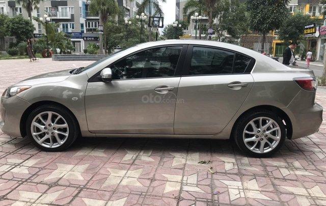 Bán Mazda 3 S đời 2013, màu vàng cát1