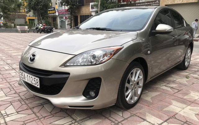 Bán Mazda 3 S đời 2013, màu vàng cát3