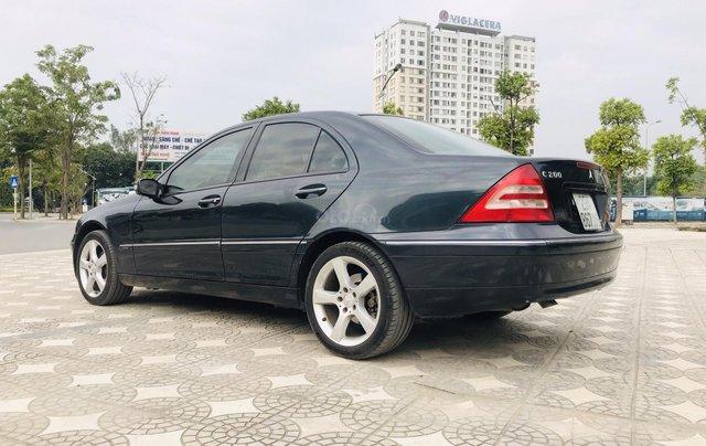 Cần bán xe Mercedes C200 đời 2002, màu đen5