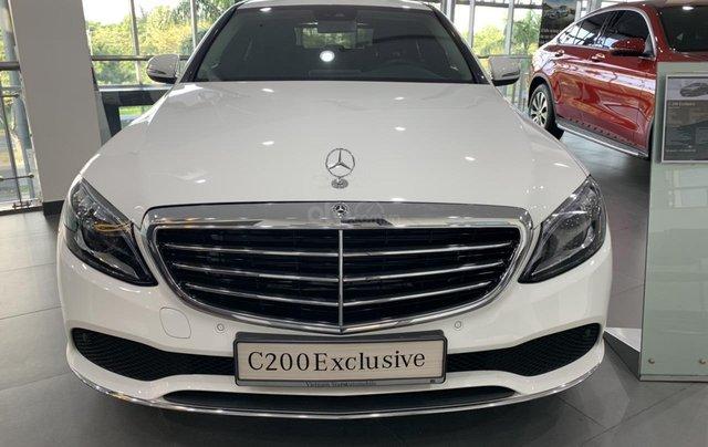 Mercedes Benz C 200 Exclusive 2019 ưu đãi phí trước bạ1