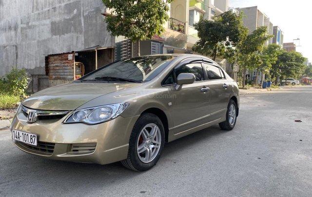 Cần bán xe Honda City đăng ký lần đầu 2009, màu vàng mới 95% giá 299 triệu đồng2