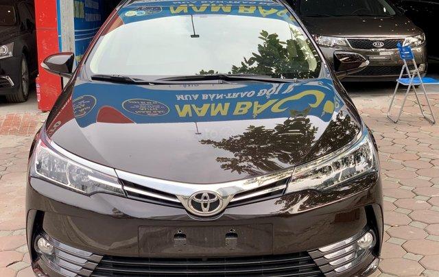 Bán ô tô Toyota Corolla Altis 1.8G 2019, màu nâu0