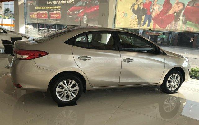 Bán nhanh Toyota Vios 1.5G đời 2020, màu vàng cát - Có sẵn xe giao nhanh0