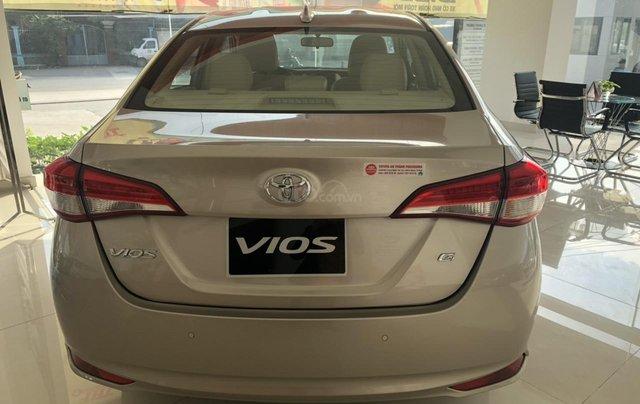 Bán nhanh Toyota Vios 1.5G đời 2020, màu vàng cát - Có sẵn xe giao nhanh4