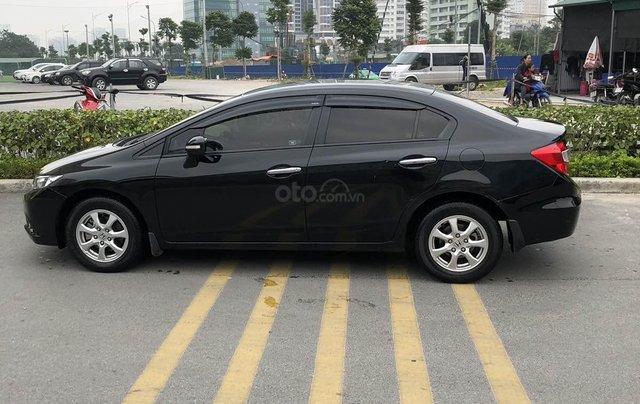 Chủ từ đầu bán Honda Civic AT 1.8 đời 2015 màu đen đi ít Odo 43.000km LH 09813198880